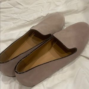 J.Crew Suede Flats Loafers